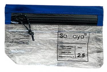 Image of Porte monnaie samaya equipment wallet bleu