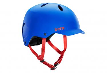 Casco Bern Bandito Azul Cobalto M  54 57 Cm