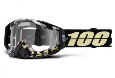 Maschera Ergoflash 100% Racecraft / Lenti trasparenti