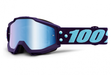 100% ACCURI Goggle Maneuver - Mirror Blue Lens