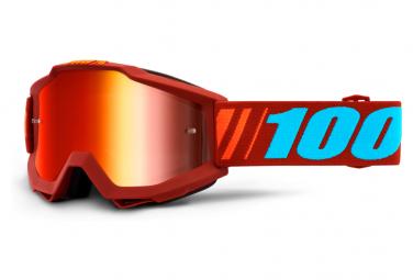 100% Accuri Dauphine Maschera / Specchio Occhiali rossi