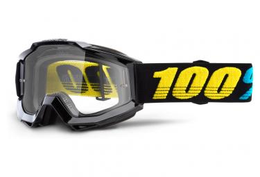 Máscara 100% Accuri clear black