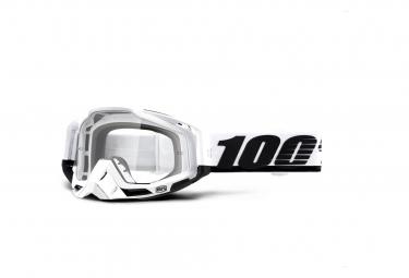 Máscara 100% Racecraft clear white