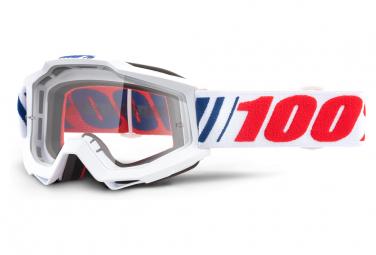 Máscara 100% Accuri  clear white