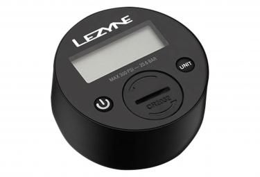 Lezyne Shock Digital Drive Floor Pump (Max 350 psi / 24.1 bar) Silver / Black