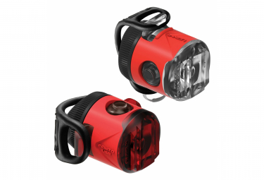 Lezyne Femto USB Drive Pair Light Set Red