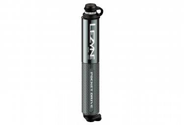 Lezyne Pocket Drive Hand Pump (Max 160 psi / 11 bar) Lite Grey