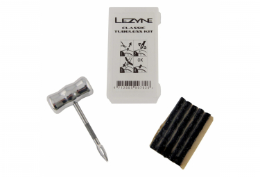 Lezyne Classic Tubeless Kit + 5 Tire Plugs