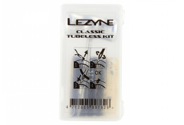 Kit tubeless classico Lezyne + 5 tappi per pneumatici