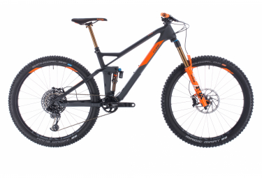 MTB Doble Suspensión Cube Stereo 140 HPC TM 27.5'' Noir / Orange 2020
