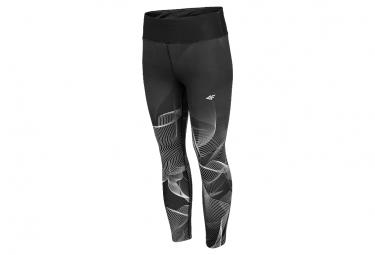 4F Women's Functional Trousers 7/8 H4L20-SPDF010-20S Femme legging Noir