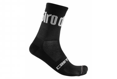 Paire de Chaussettes Castelli #Giro103 13 Noir