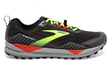 Chaussures de Trail Brooks Running Cascadia 15 Noir / Jaune