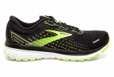 Brooks Ghost 13 2e Large Negro Amarillo Hombres 45 1 2