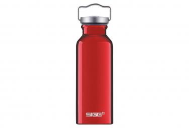 Bottiglia d'acqua rossa originale Sigg da 0,5 litri