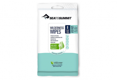 Sea To Summit Wipes 20 x 30cm Pack of 8
