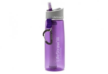 Botella de filtro lifestraw go 2 stages violeta