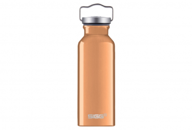 Bottiglia d'acqua arancione originale Sigg da 0,5 litri