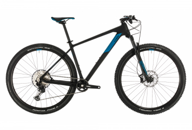 MTB Semi Rígida Cube Reaction C:62 Race Pro 29'' Noir / Bleu 2020