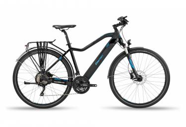 Vélo de Ville Électrique BH Evo Cross Pro-L Shimano Deore XT 10V 600 Noir / Bleu 2020
