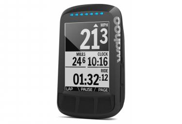 Compteur GPS Wahoo Fitness Elemnt Bolt Edition Noir Stealth