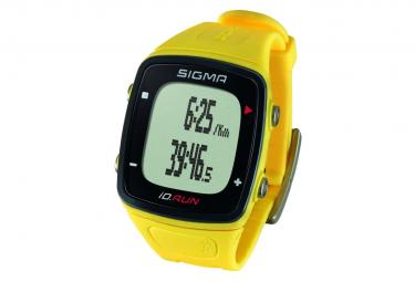 Image of Sigma montre de sport gps id run jaune 24810