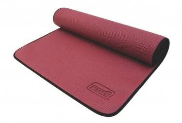 Image of Sissel tapis pour yoga et pilates 180x60x0 6 cm bordeaux sis 310 040