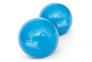 Image of Sissel ballon de tonification de pilates 2 pcs 900 g bleu sis 310 038