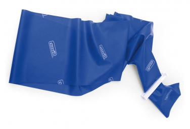 Image of Sissel bande extensible fitband bleu 14 5 x 500 cm sis 163 012