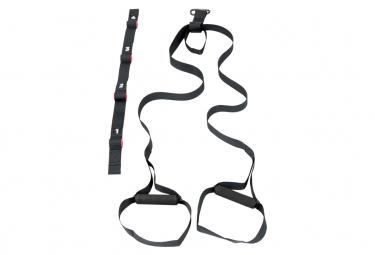 Image of Iron gym kit d entrainement en suspension x trainer noir irg040
