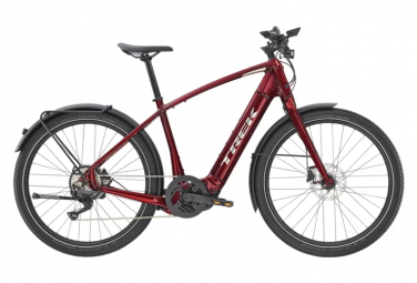 Bici da città elettrica Trek ALLANT + 8 Shimano Deore 10V Red 2020