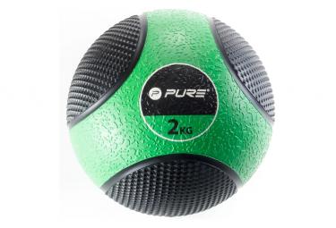 Image of Pure2improve ballon medicinal 2 kg vert