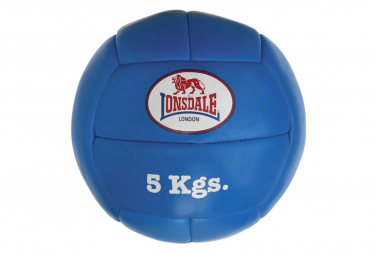 Image of Lonsdale ballon medicinal 5 kg cuir bleu