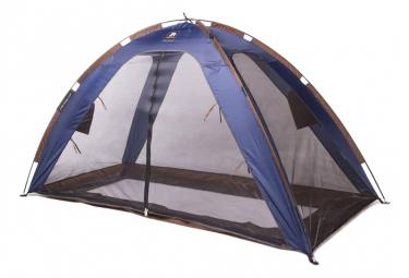 Image of Deryan tente lit avec moustiquaire 200x90x110 cm bleu