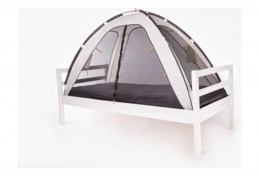 Image of Deryan tente lit avec moustiquaire 200x90x110 cm creme