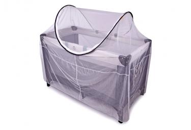 Image of Deryan moustiquaire pour lit de camping 120x60x100 cm blanc