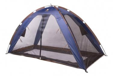 Image of Deryan tente lit avec moustiquaire 150x70x100 cm bleu