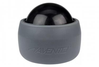 Image of Avento ballon de massage avec support gris et noir