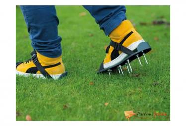 Image of Nature sandales d aerateur de pelouse vert