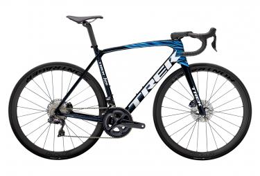 Vélo de Route Trek Emonda SLR 7 Disc Shimano Ultegra Di2 11V Noir / Bleu