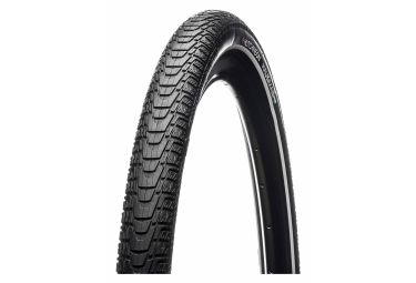 Hutchinson Haussmann 700 mm Neumático Tubo tipo alambre Hardskin Power + Reflex Sidewall E-Bike