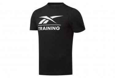 Camiseta Reebok Training Negro Hombres M