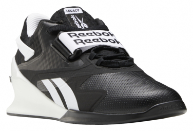 Zapatos De Cross Training Reebok Legacy Lifter Ii Negras Blancas Hombre 44