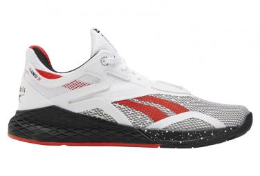 Zapatillas Reebok Nano X para Mujer Blanco / Rojo