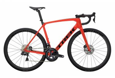Vélo de Route Trek Emonda SL 7 Disc Shimano Ultegra Di2 11V Rouge / Noir