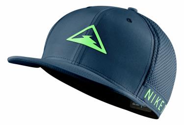 F20 Casquette Nike Dri-Fit Pro Trail Bleu Vert Unisex