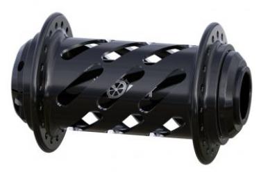 MOYEU AVANT ONYX 20MM HELIX - 36H - BLACK