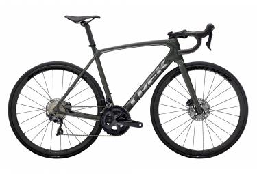 V lo de Route Trek Emonda SL 6 Pro Disc Shimano Ultegra 11V grigio litio / cromo spazzolato 2021