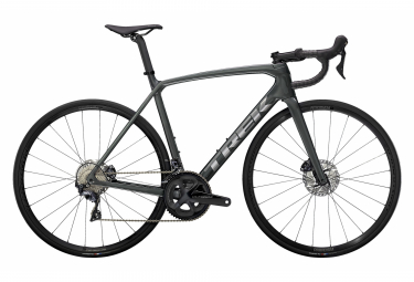 V lo de Route Trek Emonda SL 6 Disc Shimano Ultegra 11V Lithium Gray / Brushed Chrome 2021
