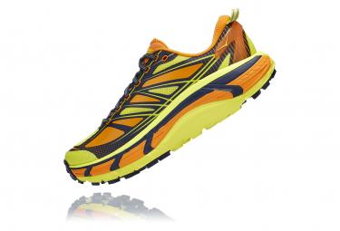 Chaussures de Trail Hoka One One Mafate Speed 2 Jaune / Orange